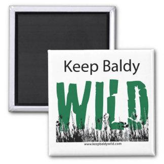 keep baldy wild magnet
