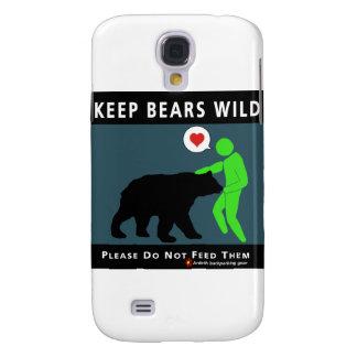 Keep Bears Wild Galaxy S4 Covers