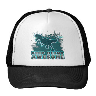 Keep Being Awesome Mesh Hat