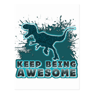 Keep Being Awesome Postcards