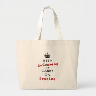 KEEP BELIEVING TOTE BAG