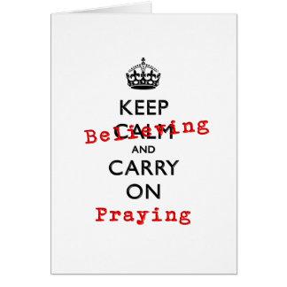 KEEP BELIEVING CARD