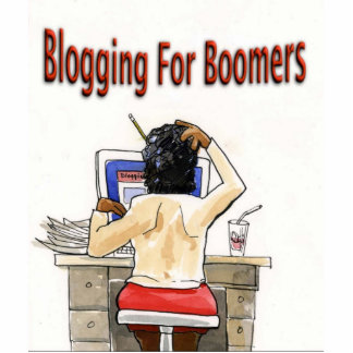 Keep Blogging Boomer Cut Out