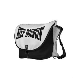 Keep Bouncin' Courier Bag