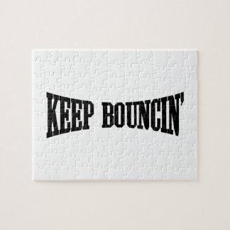Keep Bouncin' Jigsaw Puzzle