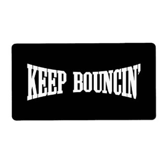 Keep Bouncin' Label