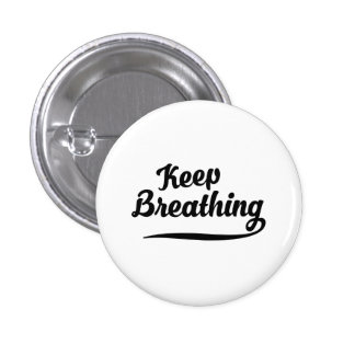 Keep Breathing Button