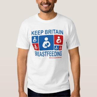 Keep Britain Breastfeeding T-Shirt