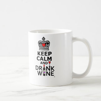 Keep Cakm and Drink Coffee Mug