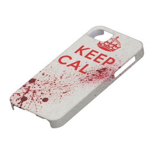 Keep Cal..Bang! Iphone 5 Case