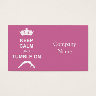 Keep cale and Tumble Business Card