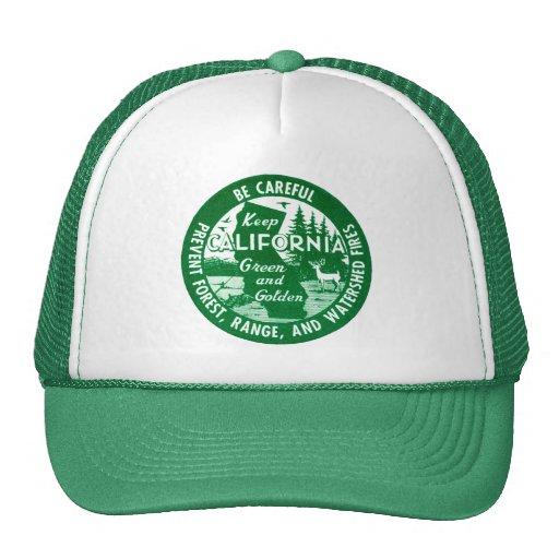 Keep California Green + Golden Trucker Hat