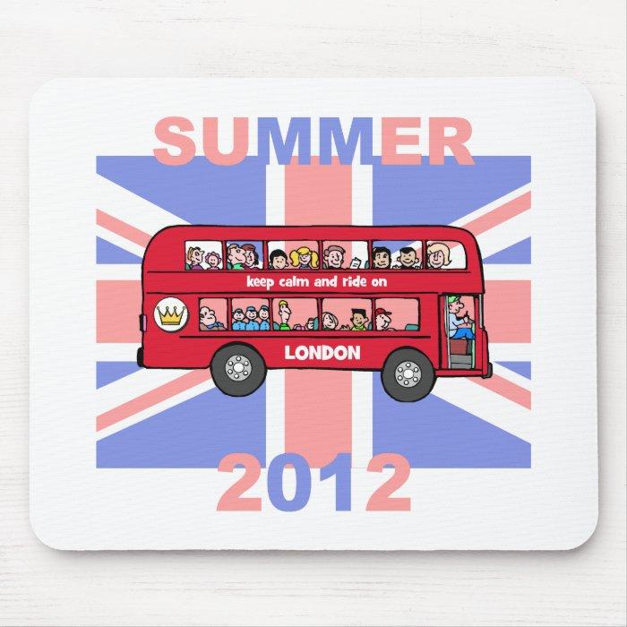 keep calm 2012 mouse pad