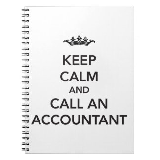 Keep Calm Accountant Notebook