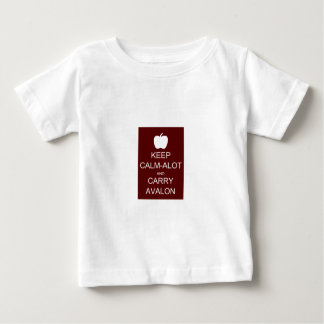 Keep Calm-Alot and Carry Avalon Baby T-Shirt
