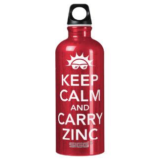 Keep Calm Aluminum Water Bottle