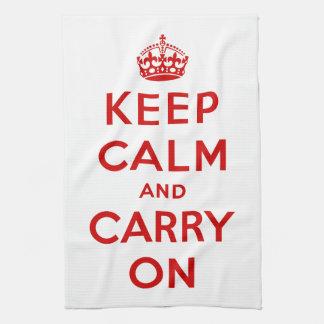 Keep Calm American MoJo Kitchen Towel