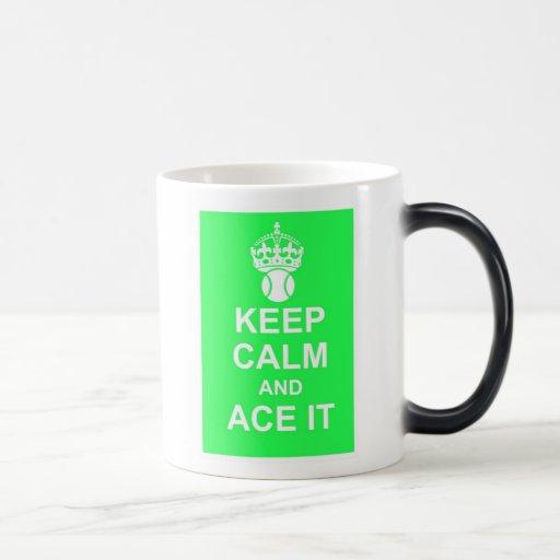 Keep Calm and Ace It Morphing Mug