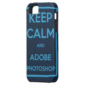 Keep Calm and Adobe Photoshop iPhone SE/5/5s Case