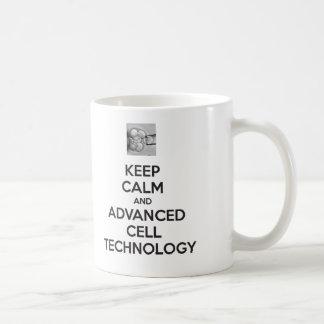 KEEP CALM and ADVANCED CELL TECHNOLOGY MUG
