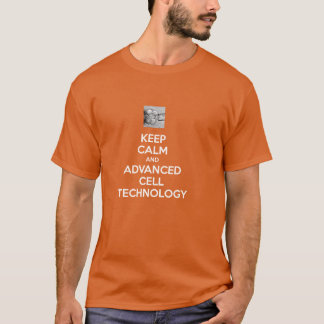 KEEP CALM and ADVANCED CELL TECHNOLOGY t-shirt