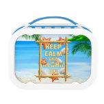 Keep Calm And Aloha On Lunchbox