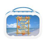 Keep Calm And Aloha On Yubo Lunchbox