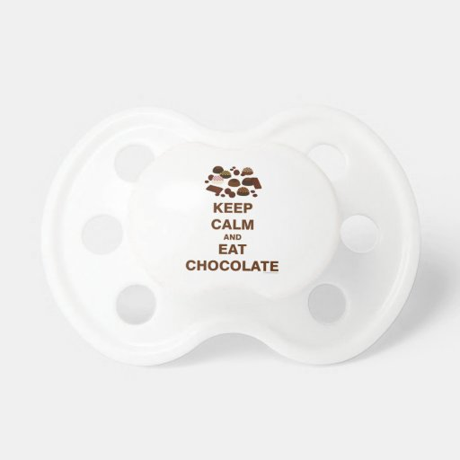 Keep Calm and Baby Pacifier