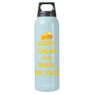 Keep Calm and Back The Pack Insulated Water Bottle