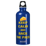Keep Calm and Back The Pack Water Bottle