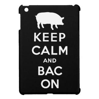 Keep calm and bacon iPad mini cases