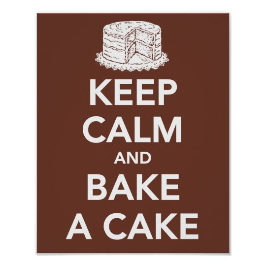 How To Bake A Small Cake From Scratch