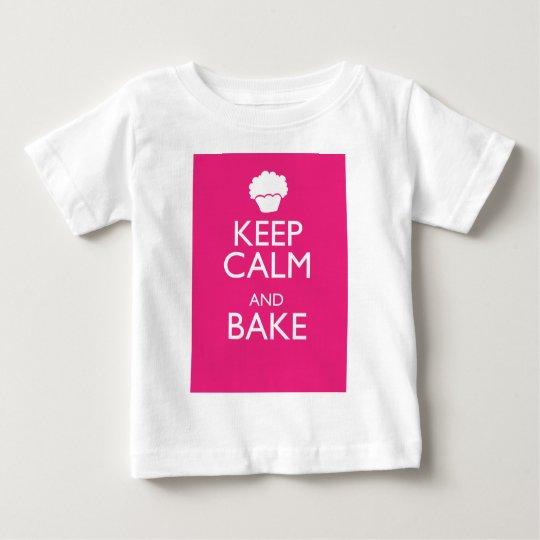 KEEP CALM AND BAKE BABY T-Shirt