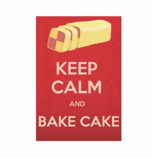 Keep Calm and Bake Cake Statuette