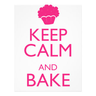 KEEP CALM AND BAKE FLYER