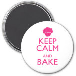 KEEP CALM AND BAKE FRIDGE MAGNET