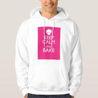 KEEP CALM AND BAKE HOODIE