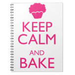 KEEP CALM AND BAKE NOTE BOOK
