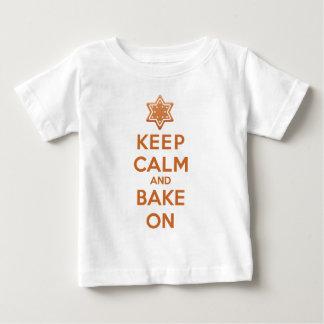 Keep Calm and Bake On Baby T-Shirt