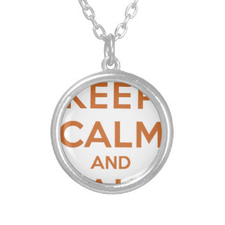 Keep Calm and Bake On Jewelry