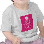 KEEP CALM AND BAKE TEES