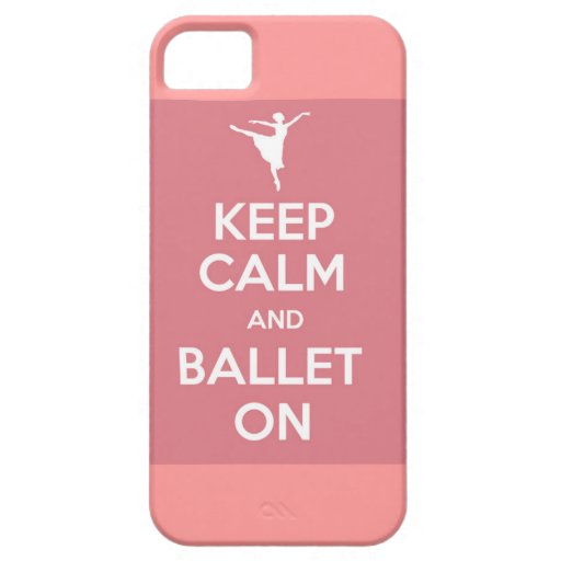 Keep calm and ballet on iPhone case iPhone 5 Cover