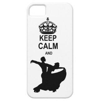 Keep Calm and Ballroom Dance iPhone 5 Cases