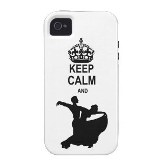 Keep Calm and Ballroom Dance Case-Mate iPhone 4 Covers