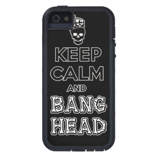 Keep Calm and Bang Head!! Case For iPhone SE/5/5s