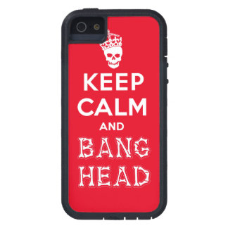 Keep Calm and Bang Head!! (white ver.) Case For iPhone SE/5/5s