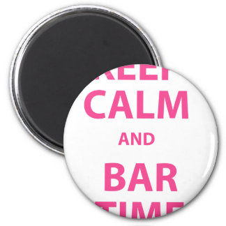 Keep Calm and Bar Time Magnet