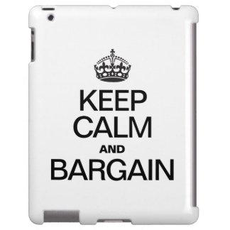 KEEP CALM AND BARGAIN