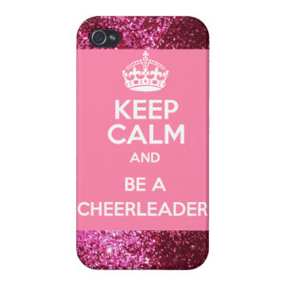 keep calm and be a cheerleader iphone4/4s case