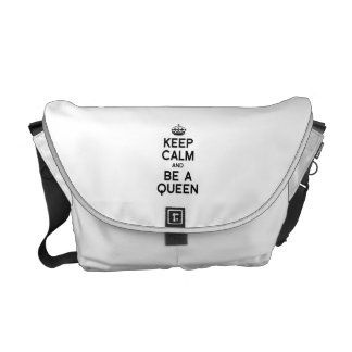 KEEP CALM AND BE A QUEEN.png Commuter Bag